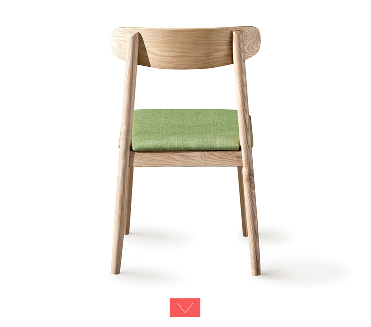 Best Modern Coffee Shop And Restaurant Wooden Dining Chair