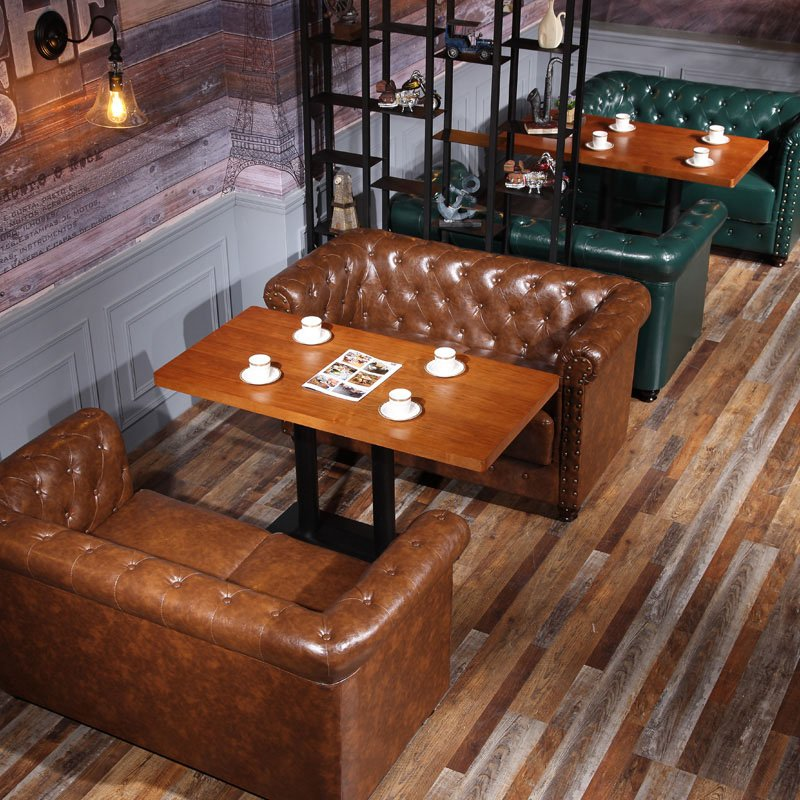 Vintage Industrial Styles Furniture Coffee Shop Use Tables