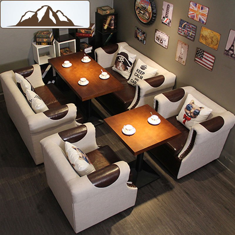 Find Commercial Restaurant Sofa Seating And Dining Table Set Se - Commercial dining table sets