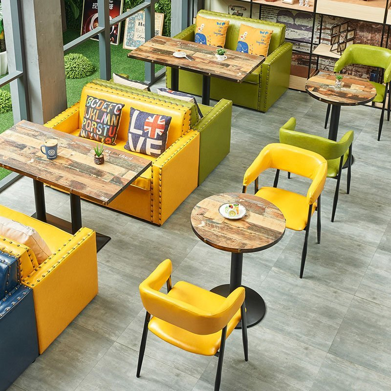 Cafe Bench Seating: Find Retro Style Restaurant Bench Seating And Long Table