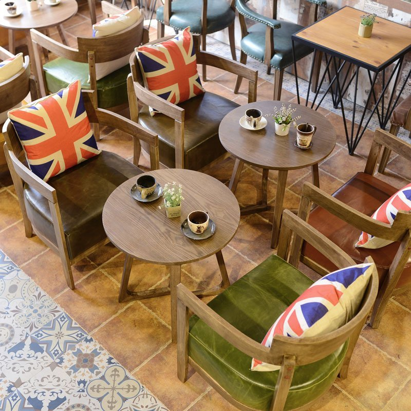 Where To Buy Cafe Kid Furniture: Find Leisure Cafe And Bakery Wooden Sofa Chair And Table