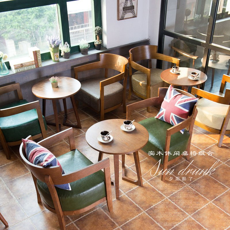 Kid Cafe Furniture: Find Leisure Cafe And Bakery Wooden Sofa Chair And Table