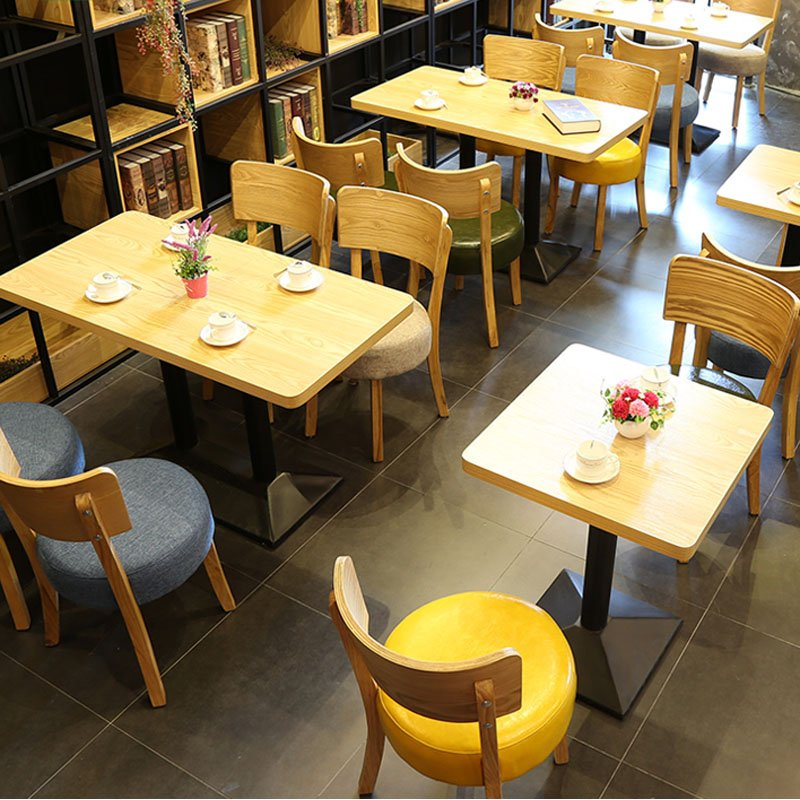 Best Concise Design Wood Restaurant Furniture For Less