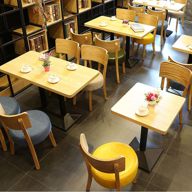 Marvelous Concise Design Wood Restaurant Furniture For Less GROUP124