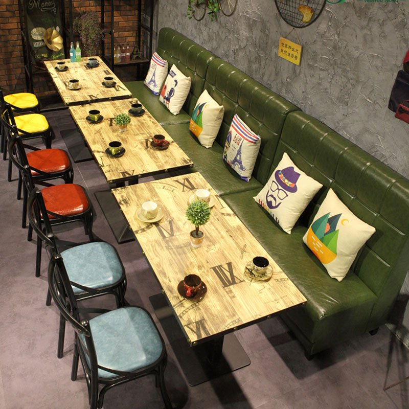 Find Industrial Restaurant Table And Corner Booth Sofa Se - Table 41 restaurant